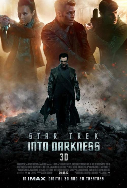 """Star Trek Into Darkness"" - none more dark, squire..."